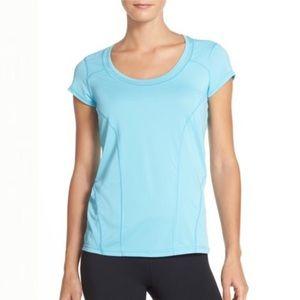 Zella — Sunny Run Short Sleeve Workout Tee